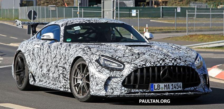 SPYSHOTS: Mercedes-AMG GT Black Series – more aggressive aero, 700 hp/750 Nm; flat-crank engine? Image #1099407
