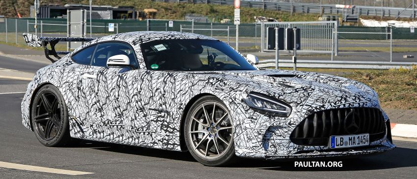 SPYSHOTS: Mercedes-AMG GT Black Series – more aggressive aero, 700 hp/750 Nm; flat-crank engine? Image #1099406