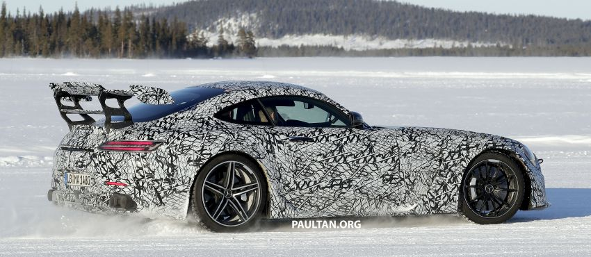 SPYSHOTS: Mercedes-AMG GT Black Series – more aggressive aero, 700 hp/750 Nm; flat-crank engine? Image #1099385
