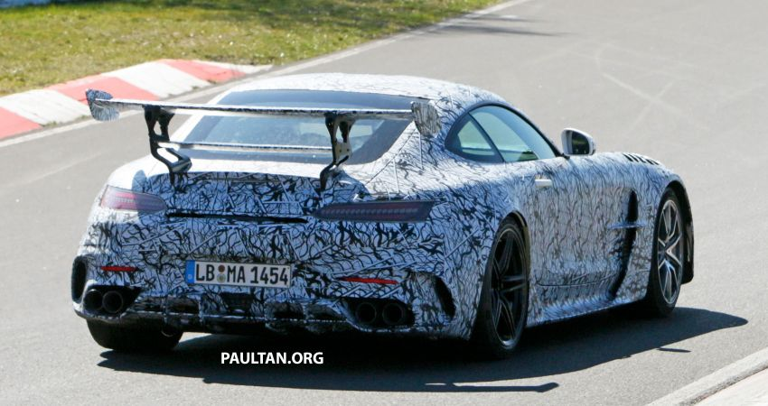 SPYSHOTS: Mercedes-AMG GT Black Series – more aggressive aero, 700 hp/750 Nm; flat-crank engine? Image #1099370