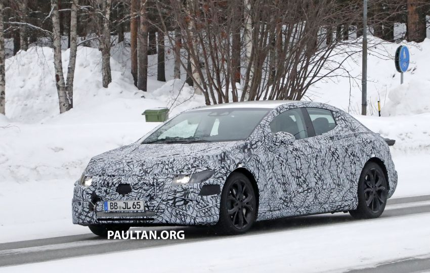 SPYSHOTS: Mercedes-Benz EQE seen for the first time Image #1093648