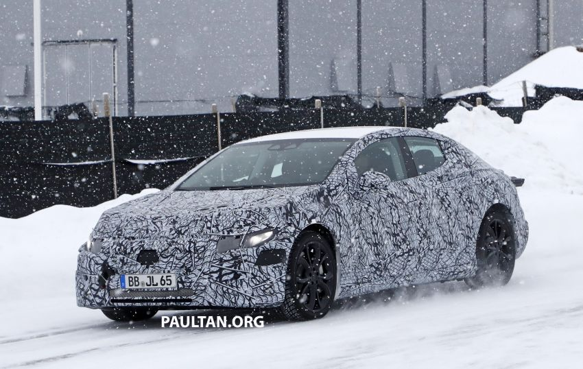 SPYSHOTS: Mercedes-Benz EQE seen for the first time Image #1093658