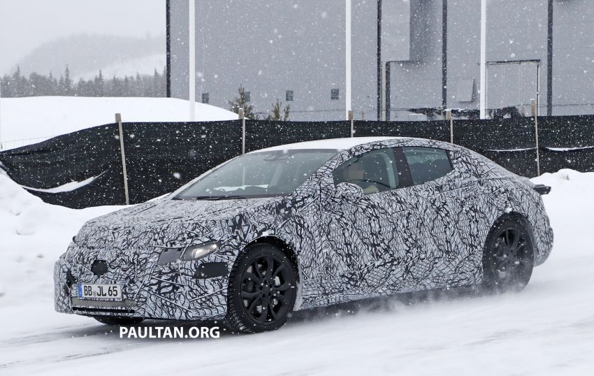 SPYSHOTS: Mercedes-Benz EQE seen for the first time Image #1093659