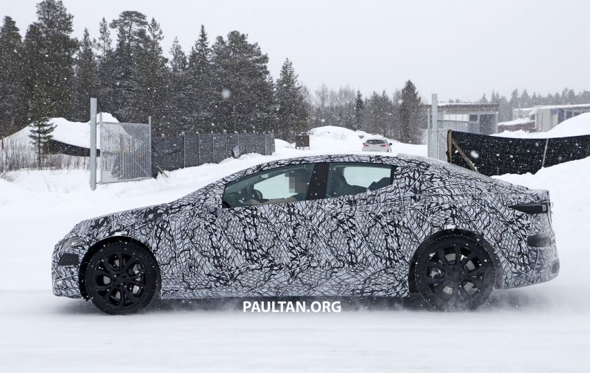 SPYSHOTS: Mercedes-Benz EQE seen for the first time Image #1093661