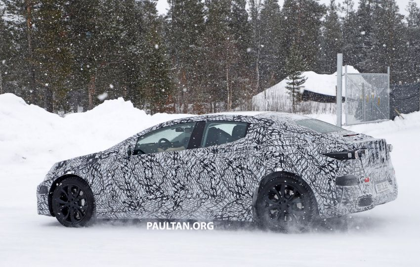 SPYSHOTS: Mercedes-Benz EQE seen for the first time Image #1093662