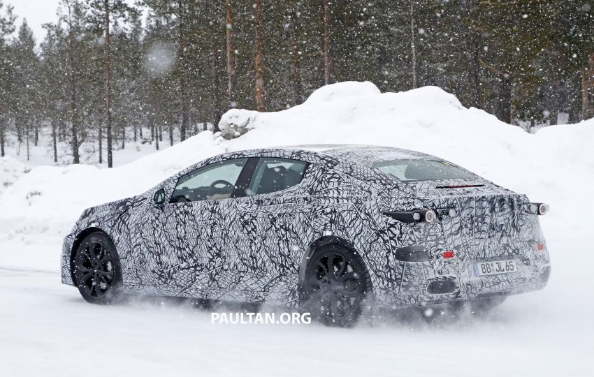 SPYSHOTS: Mercedes-Benz EQE seen for the first time Image #1093663