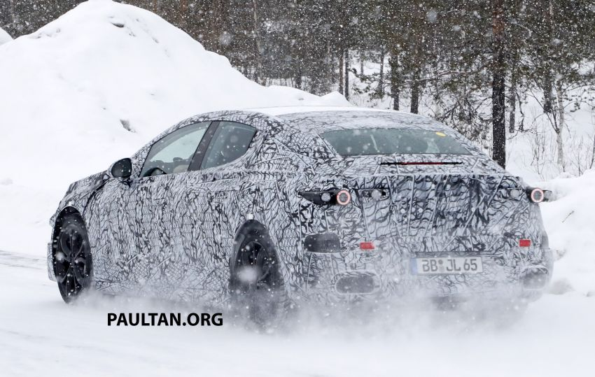 SPYSHOTS: Mercedes-Benz EQE seen for the first time Image #1093664