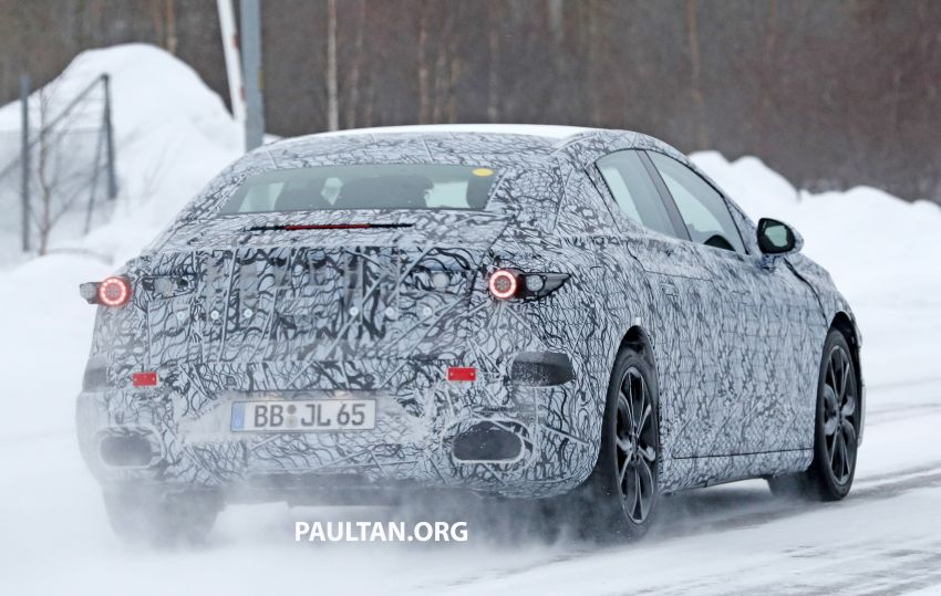 SPYSHOTS: Mercedes-Benz EQE seen for the first time Image #1093665