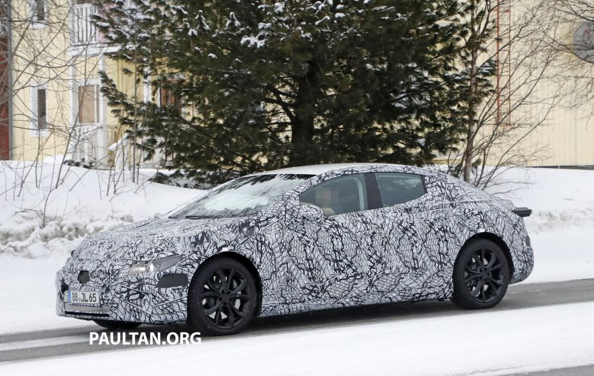 SPYSHOTS: Mercedes-Benz EQE seen for the first time Image #1093650