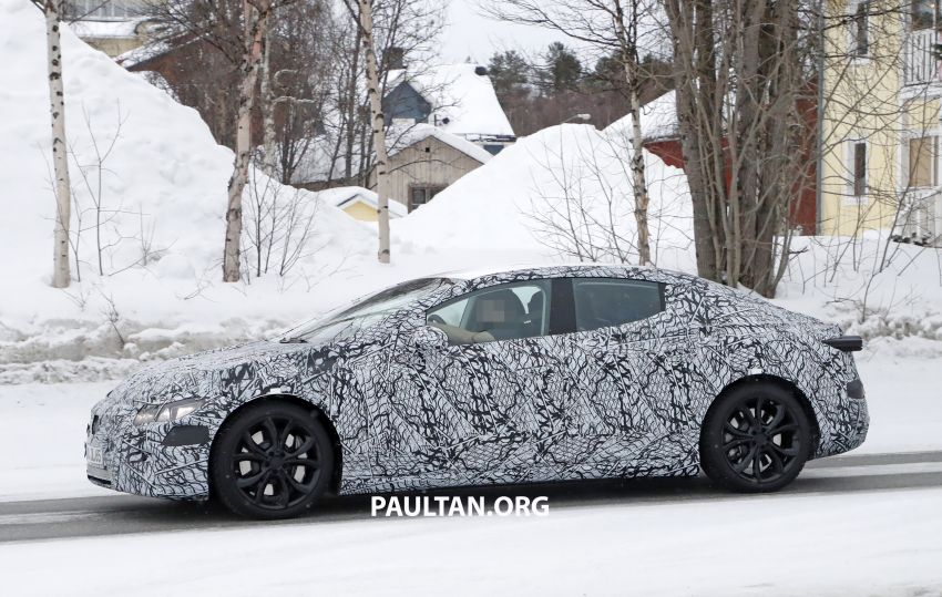 SPYSHOTS: Mercedes-Benz EQE seen for the first time Image #1093651