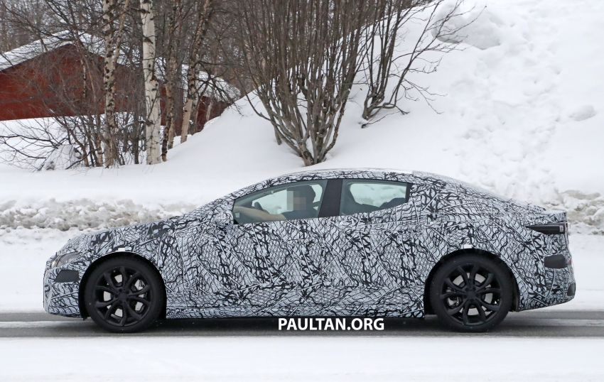 SPYSHOTS: Mercedes-Benz EQE seen for the first time Image #1093652