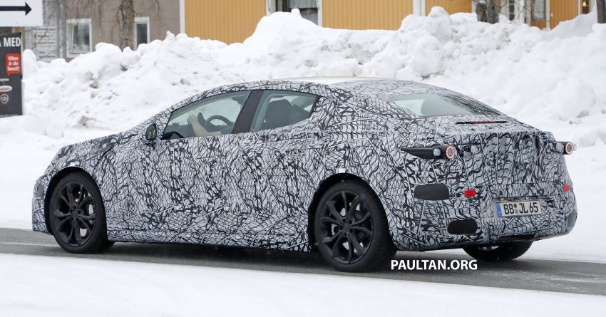 SPYSHOTS: Mercedes-Benz EQE seen for the first time Image #1093655