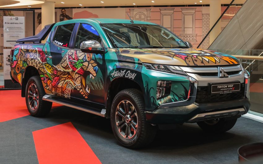 GALLERY: Mitsubishi Triton by graffiti artist Kenji Chai Image #1092786