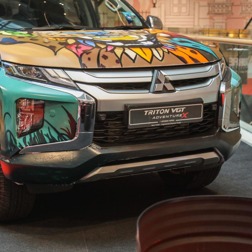 GALLERY: Mitsubishi Triton by graffiti artist Kenji Chai Image #1092795