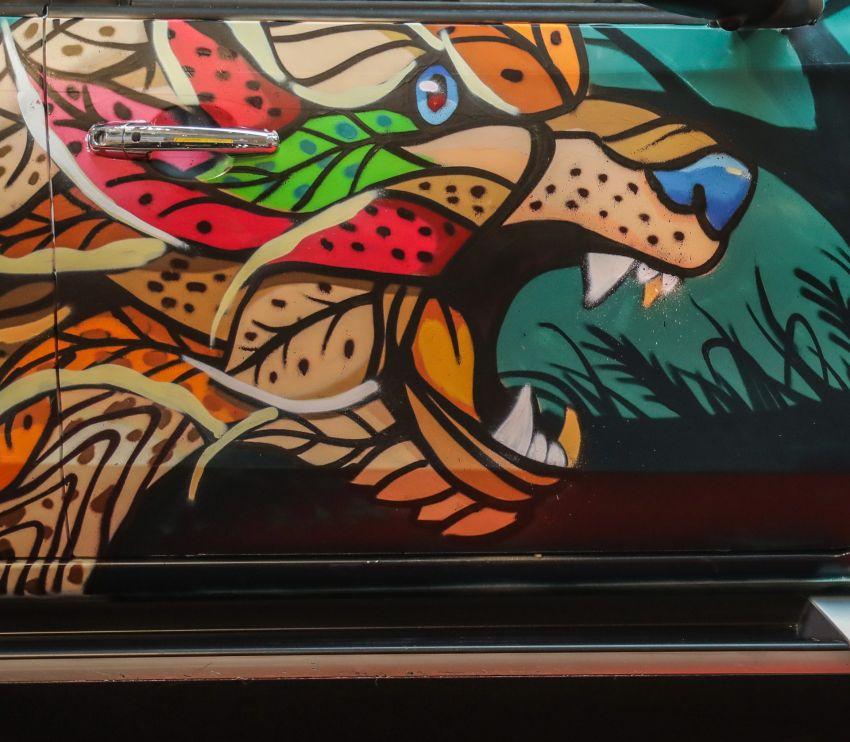 GALLERY: Mitsubishi Triton by graffiti artist Kenji Chai Image #1092797