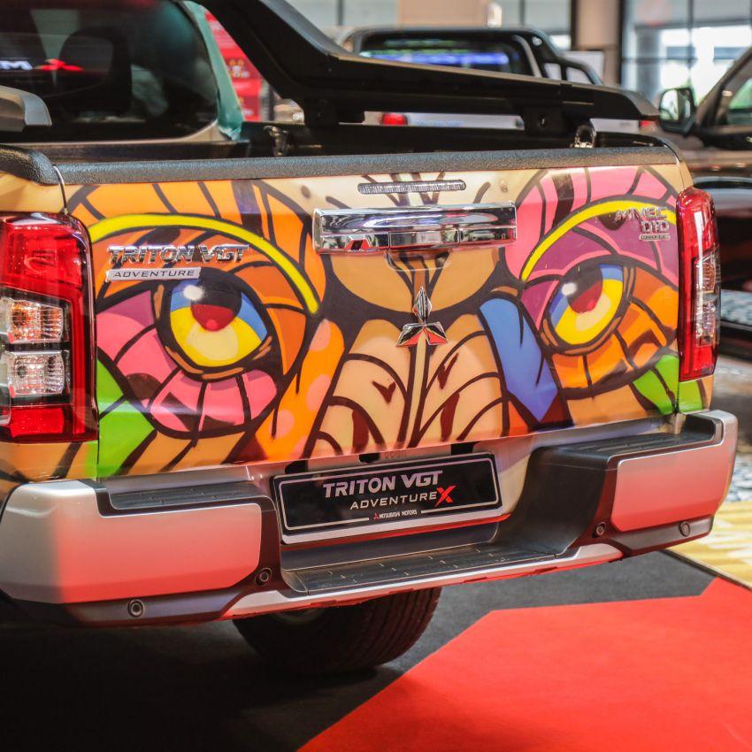 GALLERY: Mitsubishi Triton by graffiti artist Kenji Chai Image #1092799
