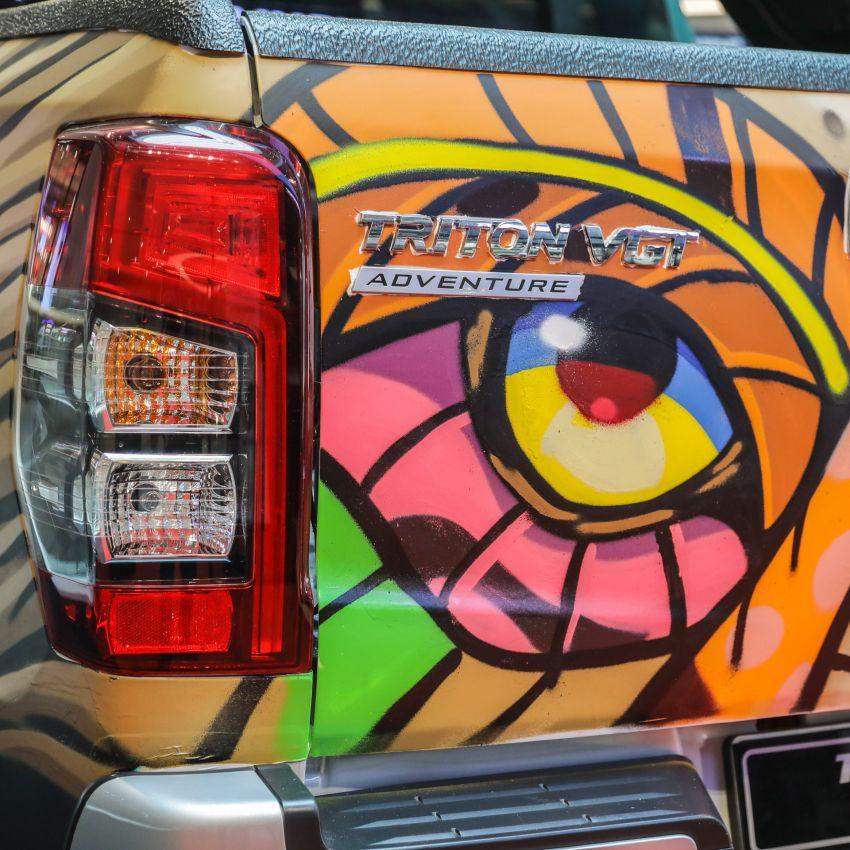GALLERY: Mitsubishi Triton by graffiti artist Kenji Chai Image #1092800