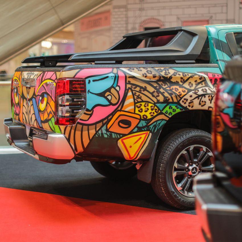 GALLERY: Mitsubishi Triton by graffiti artist Kenji Chai Image #1092801