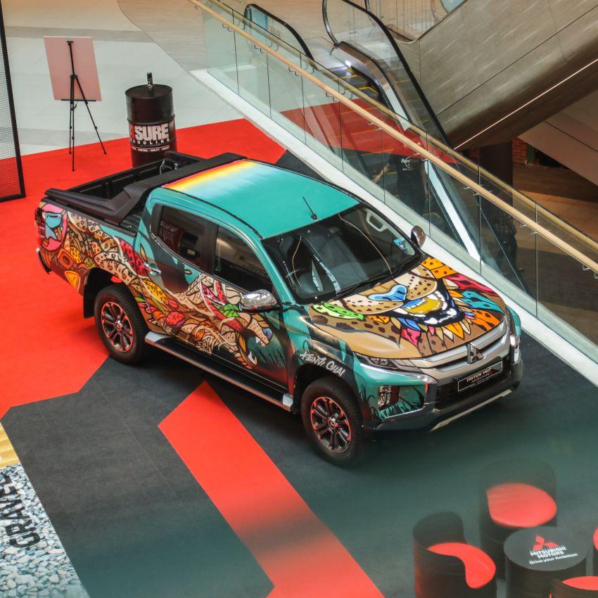 GALLERY: Mitsubishi Triton by graffiti artist Kenji Chai Image #1092804