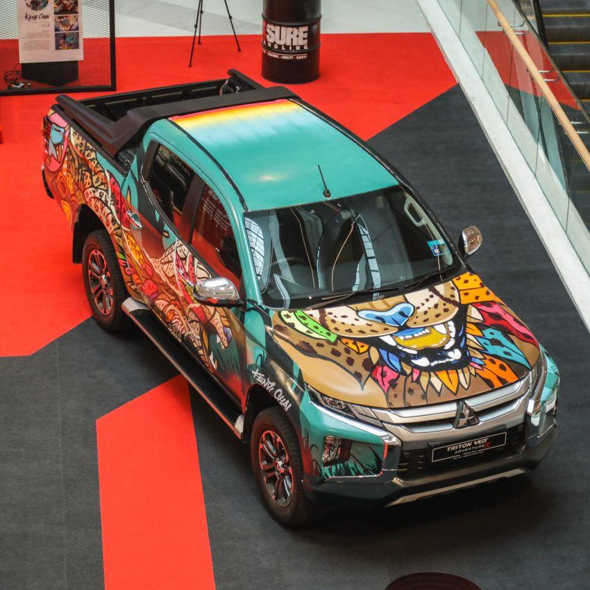 GALLERY: Mitsubishi Triton by graffiti artist Kenji Chai Image #1092805