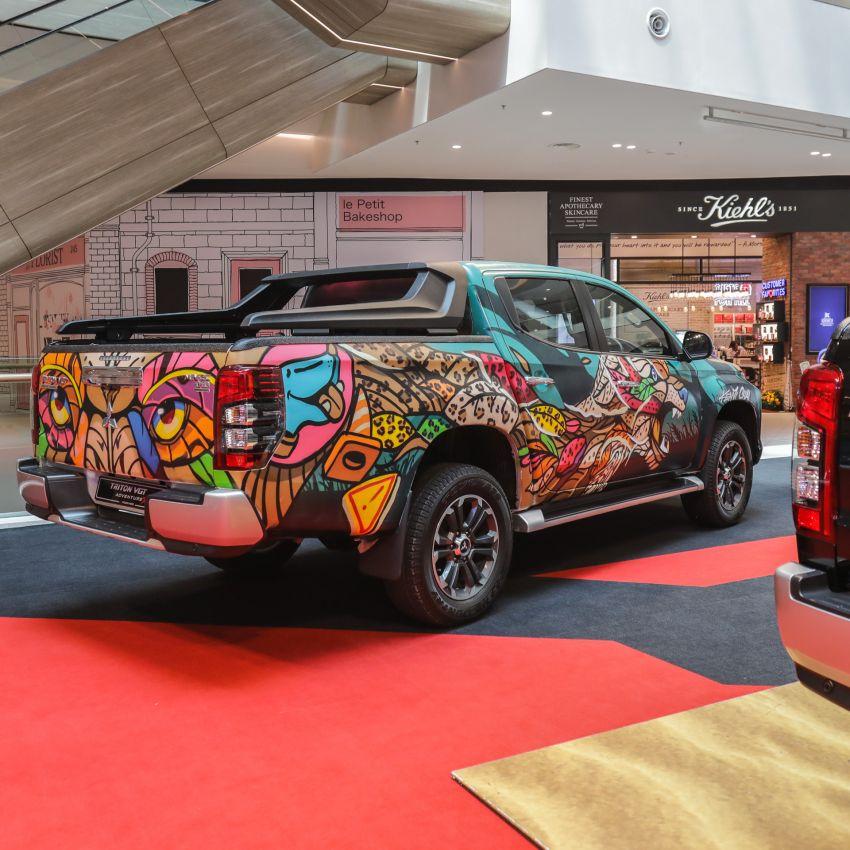 GALLERY: Mitsubishi Triton by graffiti artist Kenji Chai Image #1092788