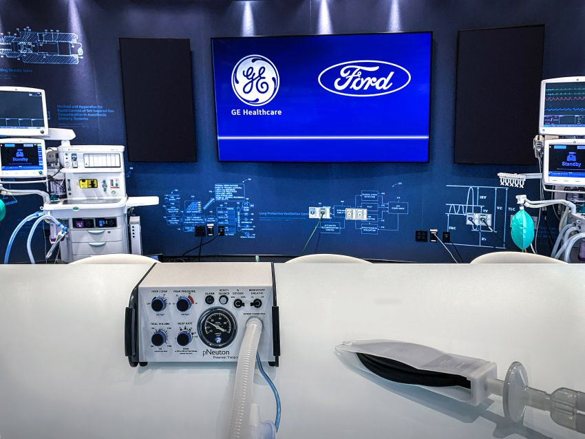 Ford will produce 50,000 ventilators within 100 days Image #1101316