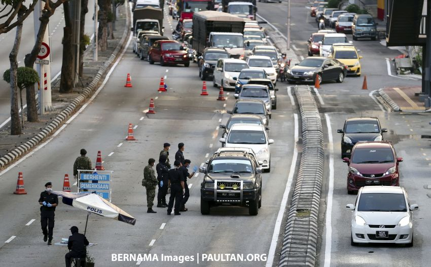 Police to increase Selangor road closures in stages Image #1101437