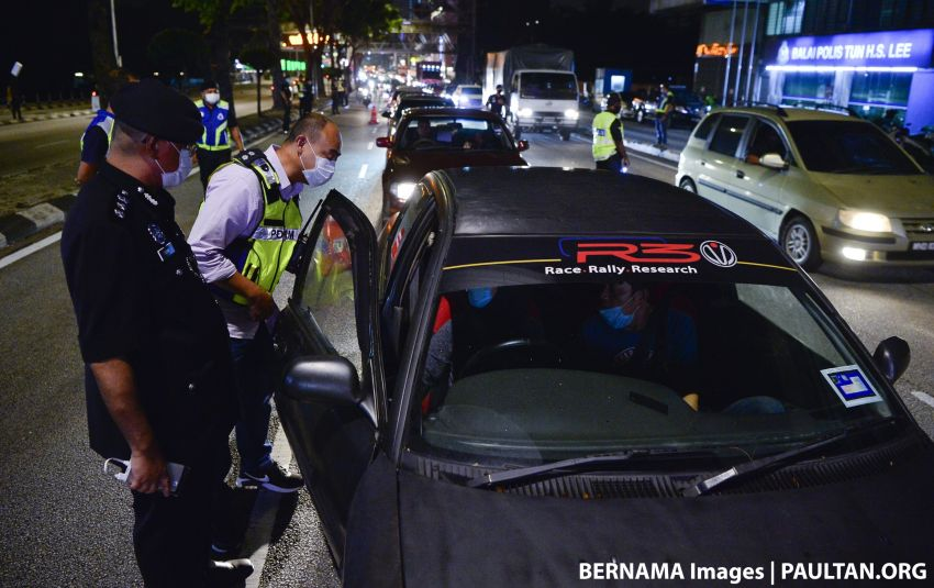 Police begin movement control order roadblock operations in KL and Selangor – just stay at home Image #1097127