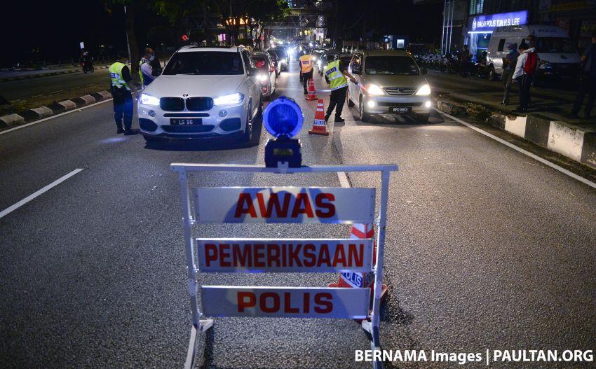 Polis mula laksana sekatan jalan raya di serata negeri sepanjang 2 minggu Perintah Kawalan Pergerakan Image #1097142
