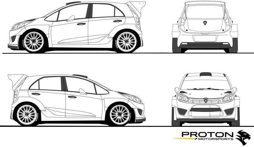 Proton Iriz R5 livery competition – stay home, colour! Image #1099792