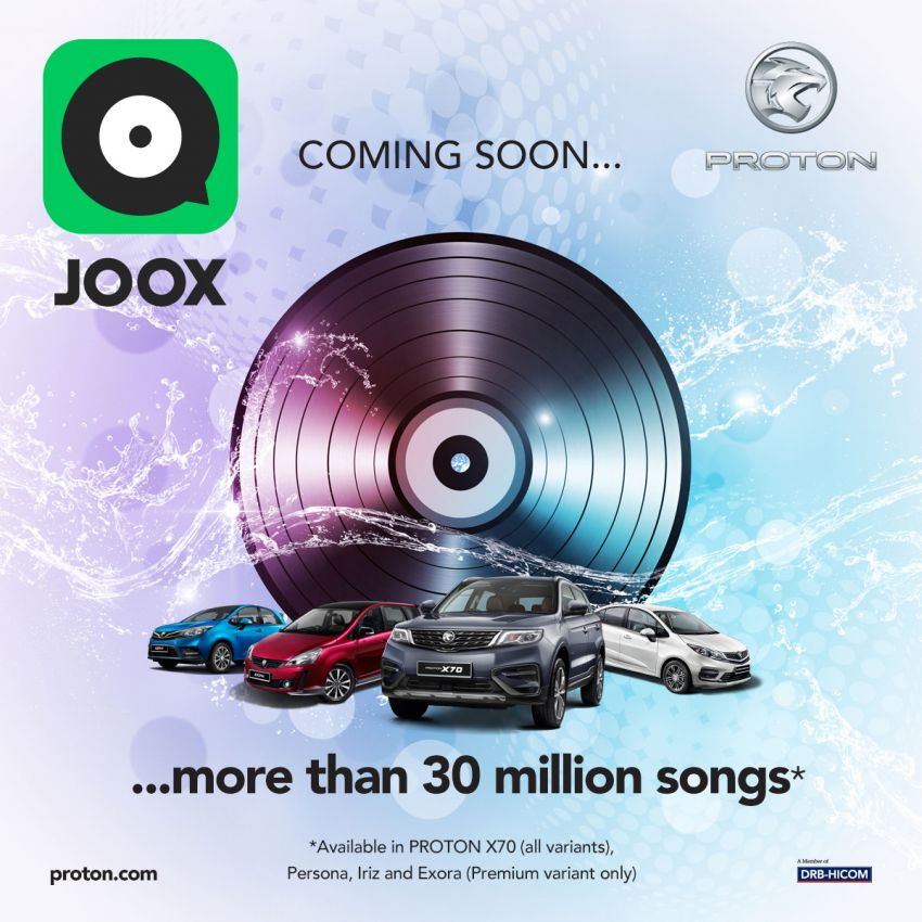 Proton moves to Joox online music streaming service – over 30 million songs, OTA updates from March 27 Image #1099808