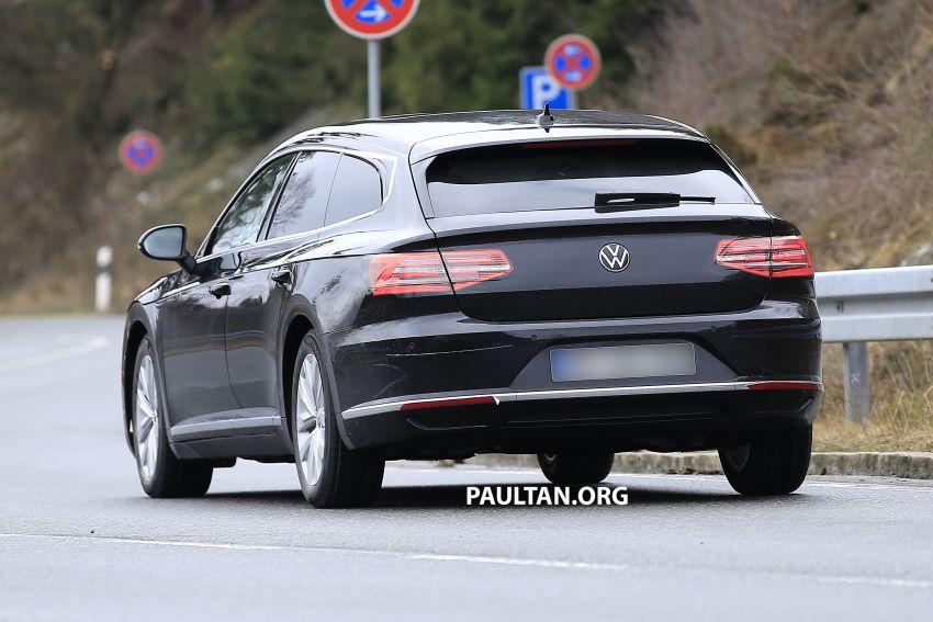 SPIED: Volkswagen Arteon Shooting Brake seen again Image #1092845