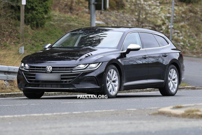 SPIED: Volkswagen Arteon Shooting Brake seen again Image #1092837