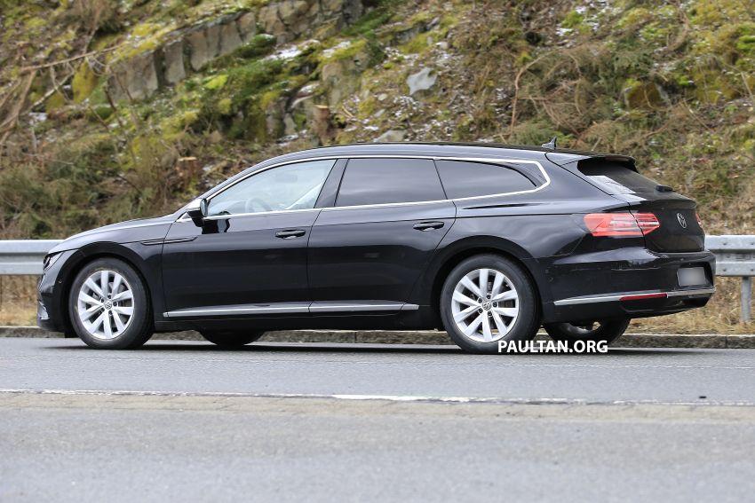 SPIED: Volkswagen Arteon Shooting Brake seen again Image #1092842