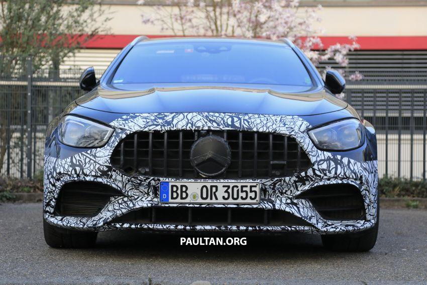 SPYSHOTS: W213 Mercedes-AMG E63 facelift spotted Image #1099323