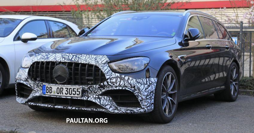 SPYSHOTS: W213 Mercedes-AMG E63 facelift spotted Image #1099326
