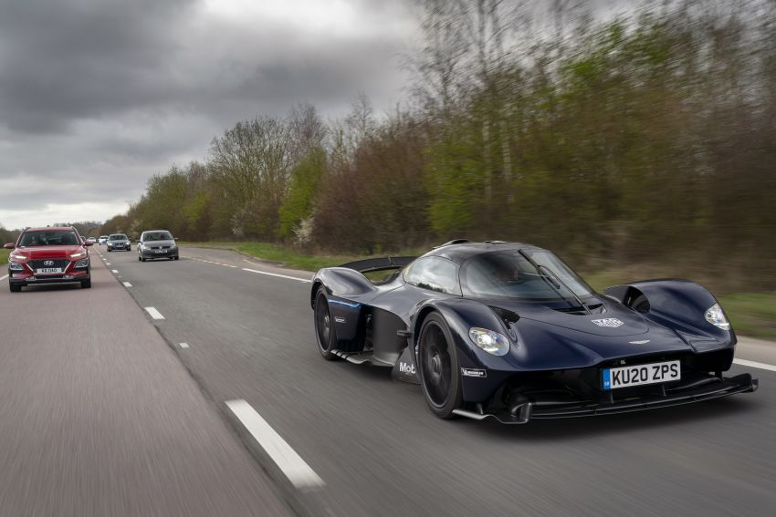 Aston Martin Valkyrie teased on road tests – 150 units from RM10.1 million each, deliveries later this year Image #1097020