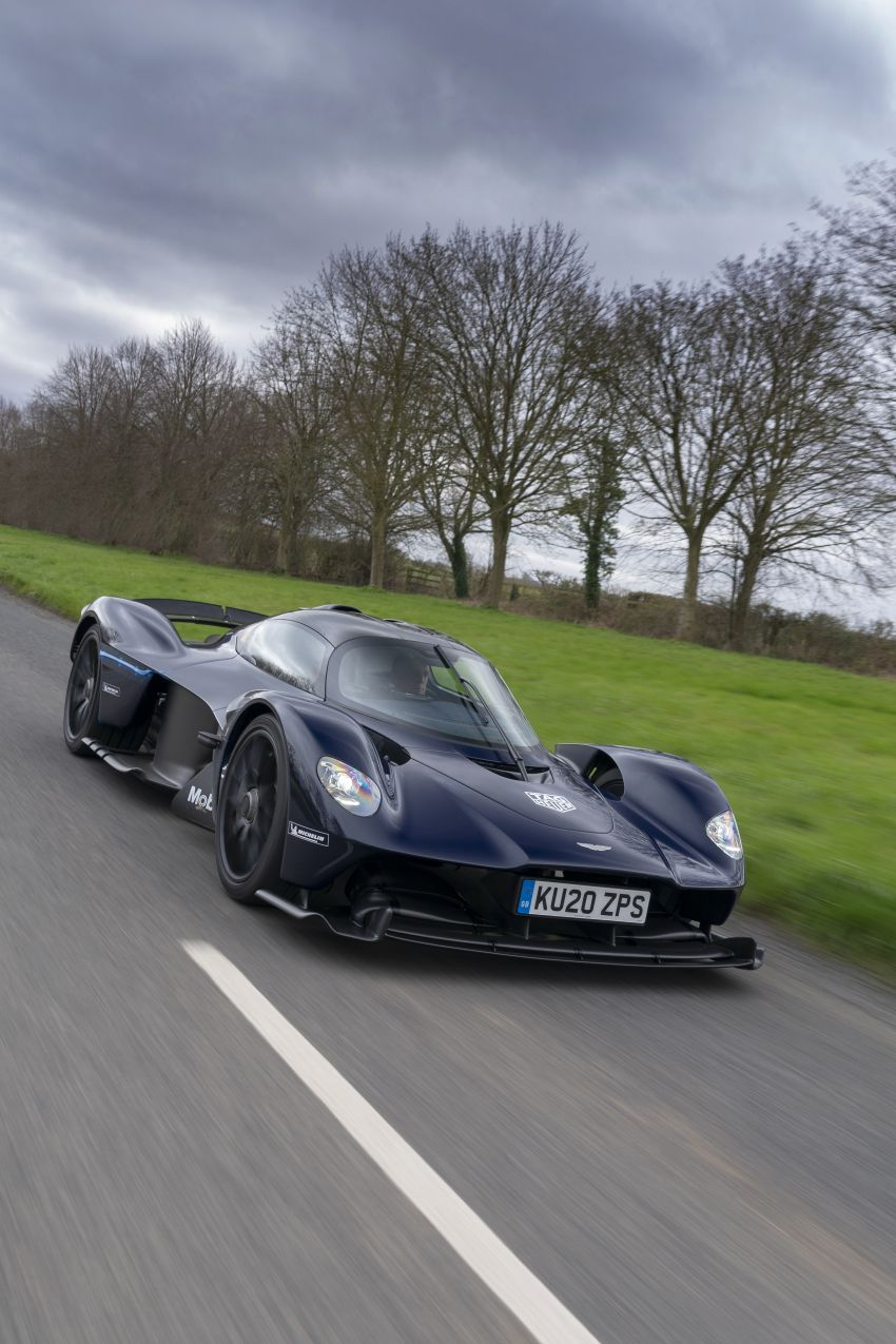 Aston Martin Valkyrie teased on road tests – 150 units from RM10.1 million each, deliveries later this year Image #1097009