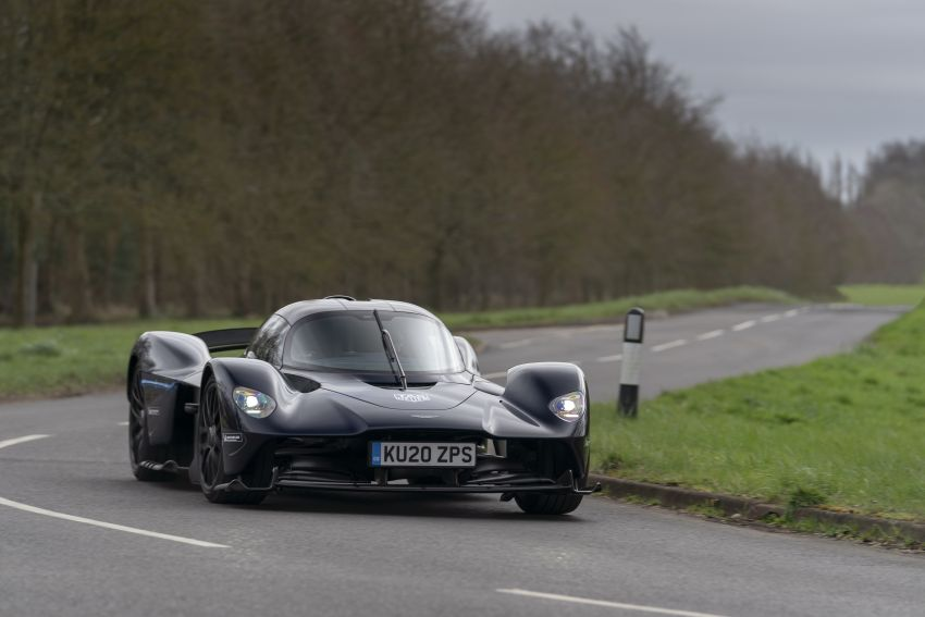 Aston Martin Valkyrie teased on road tests – 150 units from RM10.1 million each, deliveries later this year Image #1097016