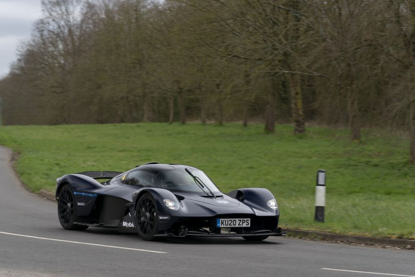 Aston Martin Valkyrie teased on road tests – 150 units from RM10.1 million each, deliveries later this year Image #1097015