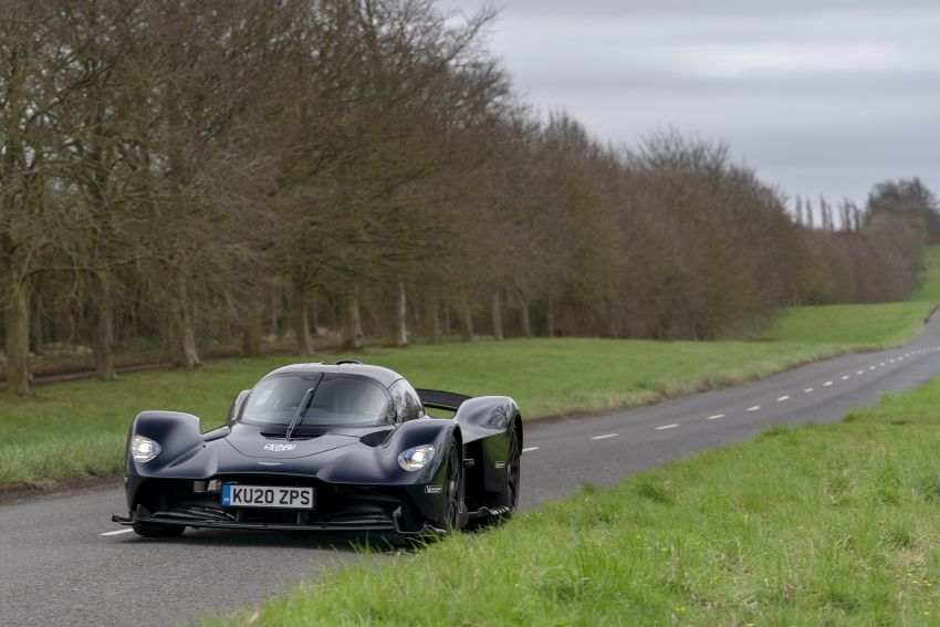 Aston Martin Valkyrie teased on road tests – 150 units from RM10.1 million each, deliveries later this year Image #1097014