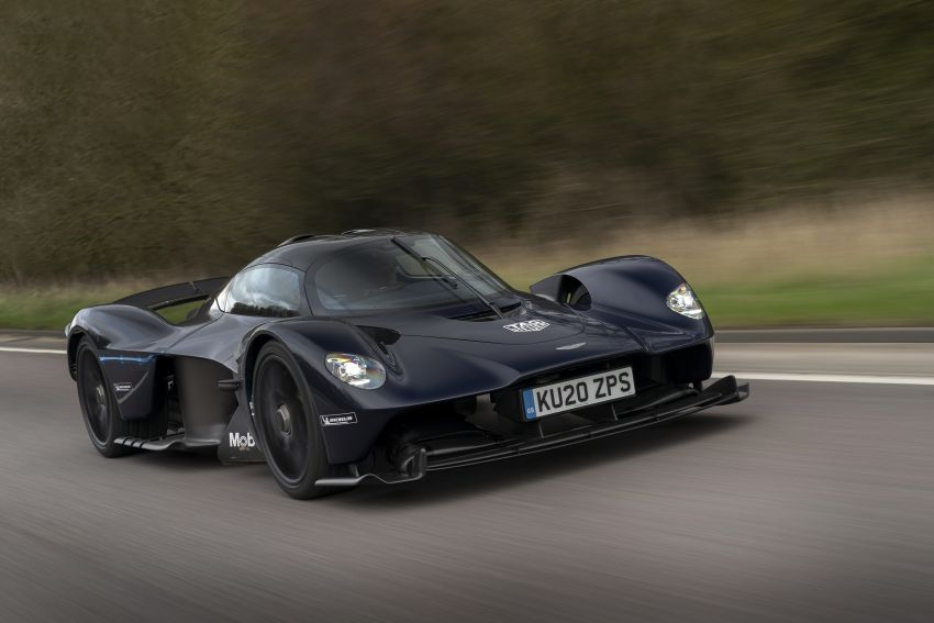 Aston Martin Valkyrie teased on road tests – 150 units from RM10.1 million each, deliveries later this year Image #1097013