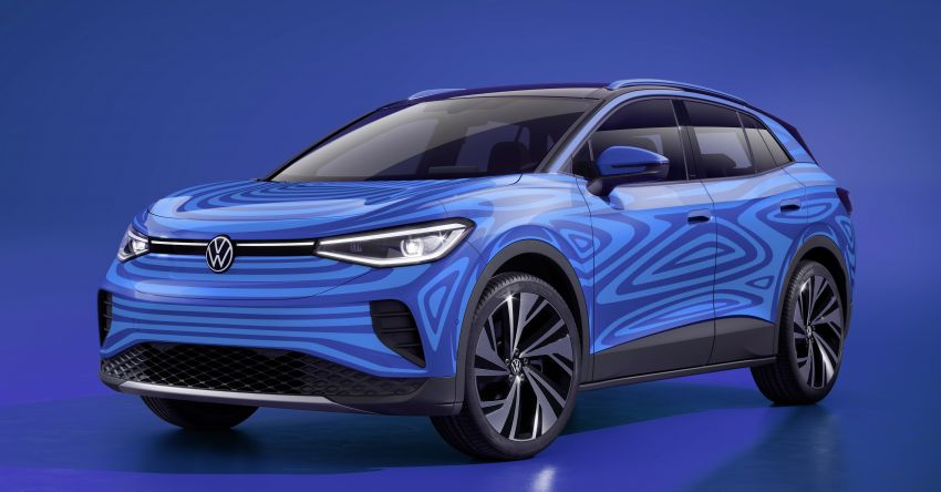 Volkswagen ID.4 SUV concept – ID. Crozz takes on production form; to be made in Europe, China and US Image #1090307