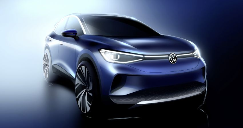 Volkswagen ID.4 SUV concept – ID. Crozz takes on production form; to be made in Europe, China and US Image #1090308