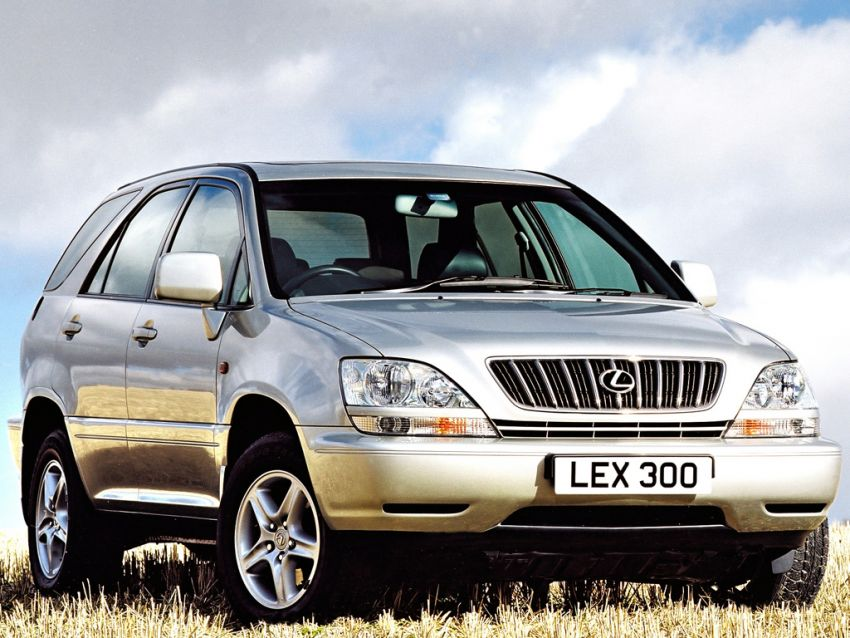 GALLERY: Four generations of the Toyota Harrier SUV Image #1106672