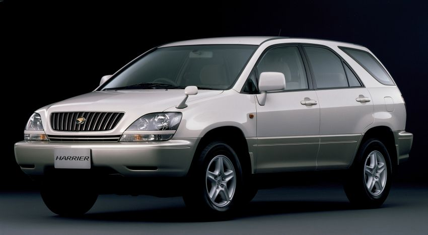 GALLERY: Four generations of the Toyota Harrier SUV Image #1106475
