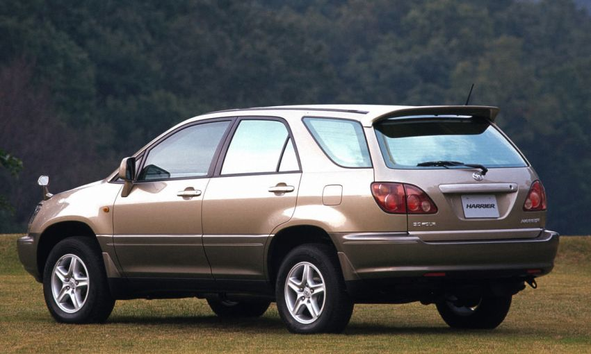 GALLERY: Four generations of the Toyota Harrier SUV Image #1106476