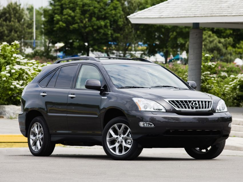 GALLERY: Four generations of the Toyota Harrier SUV Image #1106680