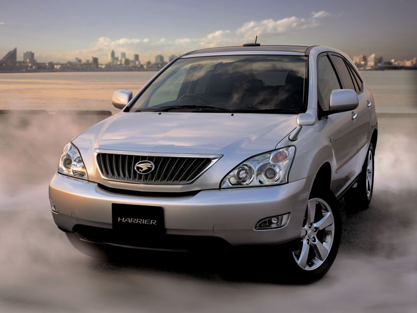 GALLERY: Four generations of the Toyota Harrier SUV Image #1106478