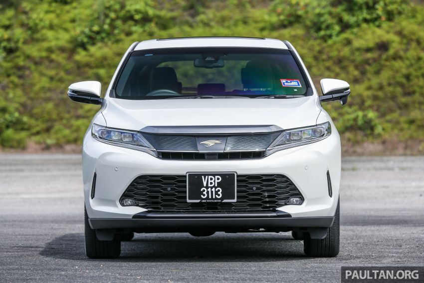 GALLERY: Four generations of the Toyota Harrier SUV Image #1106688